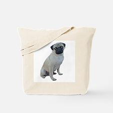 "pug picture ""artistic"" Tote Bag"