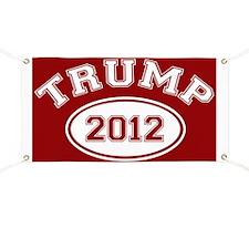 Donald Trump 2012 Banner