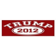 Donald Trump 2012 Bumper Sticker
