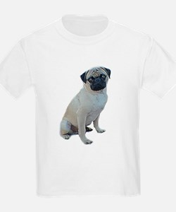 """pug picture """"artistic"""" Kids T-Shirt"""