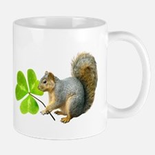 Shamrock Squirrel Small Small Mug