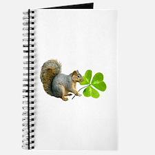 Shamrock Squirrel Journal