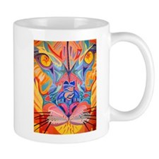 Abstract Cougar Mug