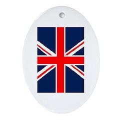United Kingdom Ornament (Oval)