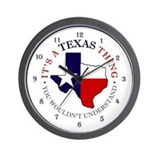 Texas Thing Wall Clock