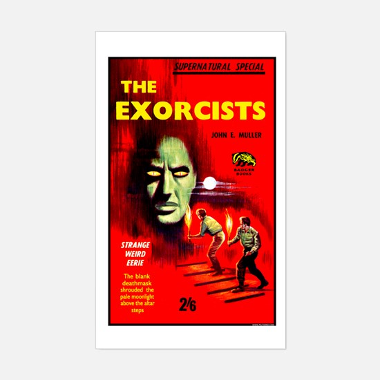 The Exorcists Sticker (Rectangle)