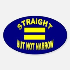 Cute Gay lesbian rights Sticker (Oval)