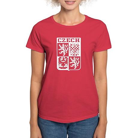 Czech Coat of Arms Women's Dark T-Shirt