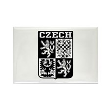Czech Coat of Arms Rectangle Magnet