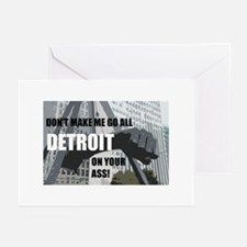 Detroit Girl Greeting Cards (Pk of 10)