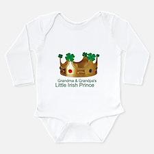 Irish Prince/Grandma/Grandpa Long Sleeve Infant Bo