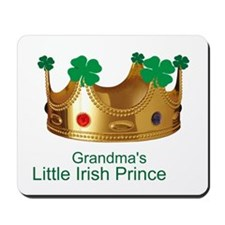 Little Irish Prince/Grandma Mousepad