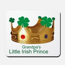 Little Irish Prince/Grandpa Mousepad