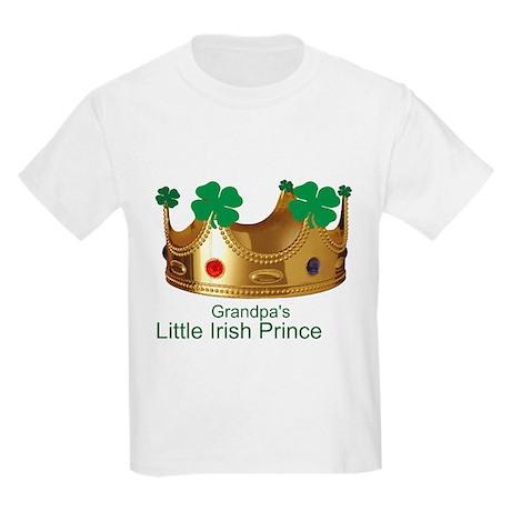 Little Irish Prince/Grandpa Kids Light T-Shirt