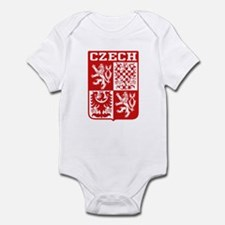 Czech Coat of Arms Infant Bodysuit