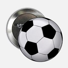 "Soccer Ball 2.25"" Button"