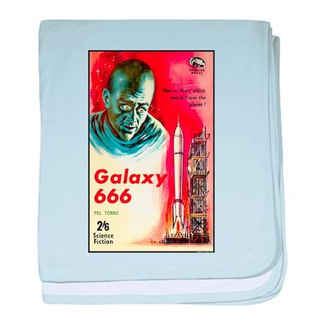 Galaxy 666 baby blanket