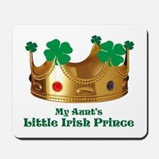Little Irish Prince/Aunt Mousepad