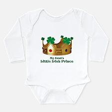 Little Irish Prince/Aunt Long Sleeve Infant Bodysu