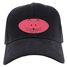 Cartoon Cat Face Baseball Hat