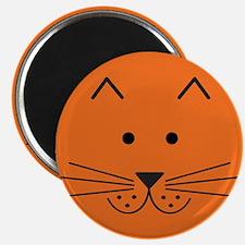 Cartoon Cat Face Magnet
