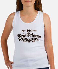 New Orleans 504 Women's Tank Top