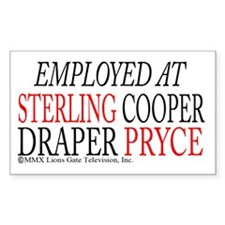 Employed at Sterling Cooper Decal