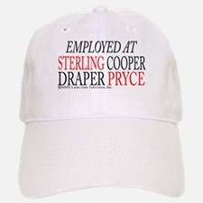 Employed at Sterling Cooper Baseball Baseball Cap