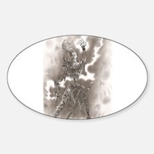 Unique Mage Sticker (Oval)
