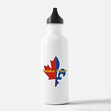Canadien Francais 3 Water Bottle