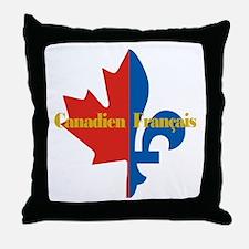 Canadien Francais 3 Throw Pillow