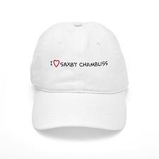 I Love Saxby Chambliss Baseball Cap