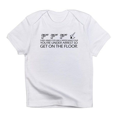 """Get On The Floor"" Infant T-Shirt"