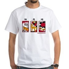 Japanese Hanafuda T-shirt (White)