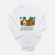 Irish Prince/Mommy/Daddy Long Sleeve Infant Bodysu