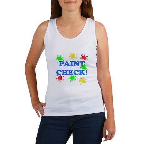 Paint Check! Women's Tank Top