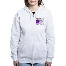 Licensed Fight Like a Girl 15.2 Zip Hoodie