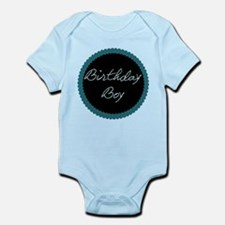 Polka Dot Birthday Boy Infant Bodysuit