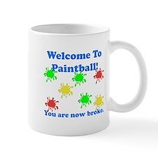 Paintball Broke Mug