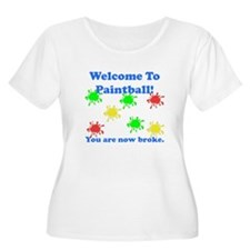 Paintball Broke T-Shirt