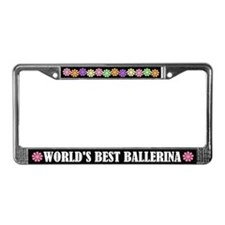 Ballerina License Frame