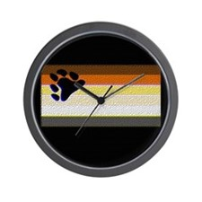 BEAR PRIDE TILE LOOK Wall Clock