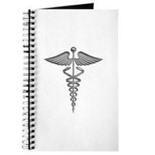 Silver Medical Symbol Journal