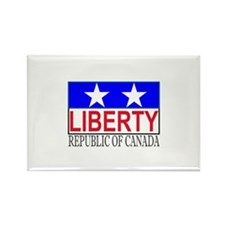 Republic of Canada Rectangle Magnet