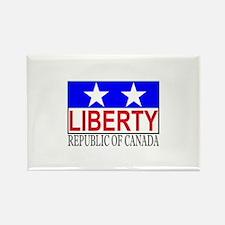 Republic of Canada Rectangle Magnet