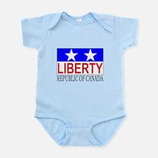 Republic of Canada Infant Bodysuit