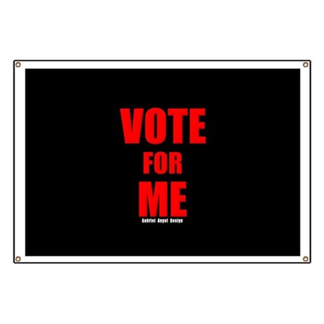 Vote for Me Banner
