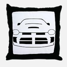 Cute Dodge neon Throw Pillow