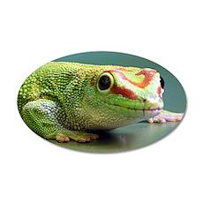 Gecko 22x14 Oval Wall Peel