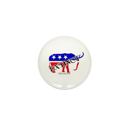Extinct Republican Party Symbol Mini Button